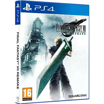 Final Fantasy VII Remake - PS4 (5021290084445)