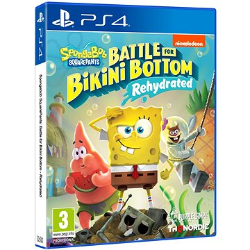 Spongebob SquarePants: Battle for Bikini Bottom - Rehydrated - PS4 (9120080074539)