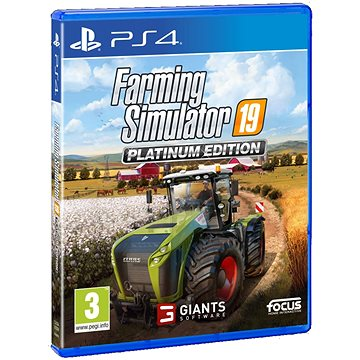 Farming Simulator 19 Platinum Edition - PS4 (3512899122147)