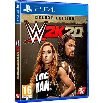 WWE 2K20 Deluxe Edition - PS4 (5026555426657)