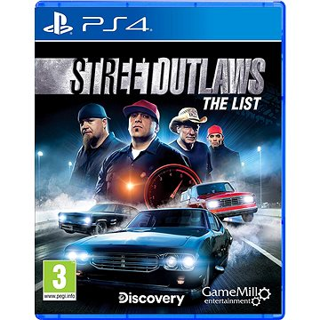 Street Outlaws: The List - PS4 (5016488133821)