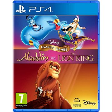 Disney Classic Games: Aladdin and the Lion King - PS4 (5060146468459)