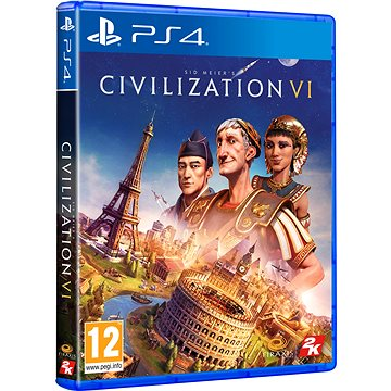 Sid Meiers Civilization VI - PS4 (5026555425742)