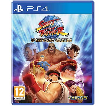 Street Fighter 30th Anniversary Collection - PS4 (5055060945001)