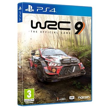 WRC 9 The Official Game - PS4 (3665962001464)