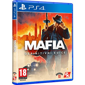 Mafia Definitive Edition - PS4 (5026555428231)
