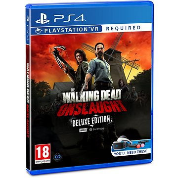 The Walking Dead: Onslaught - Deluxe Edition - PS4 VR (5060522096047)