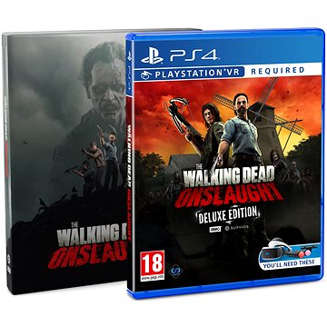 The Walking Dead: Onslaught - Steelbook Edition - PS4 VR (5060522096092)
