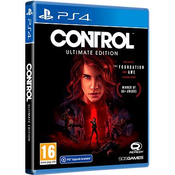 Control Ultimate Edition - PS4 (8023171044903)