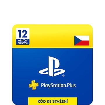 PlayStation Plus 12 měsíční členství PSN - CZ ESD (9212-00001)