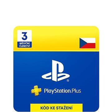 PlayStation Plus 3 měsíční členství - CZ Digital (9212-00002)