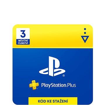 PlayStation Plus 3 měsíční členství - CZ Digital (SCEE-XX-S0015597)