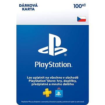 PlayStation Store - Kredit 100 Kč - CZ ESD (9212-00003)