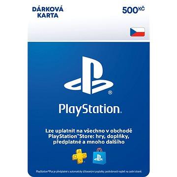 PlayStation Store - Kredit 500 Kč - CZ Digital (9212-00005)