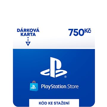 PlayStation Store - Kredit 750 Kč - CZ Digital (9212-00006)