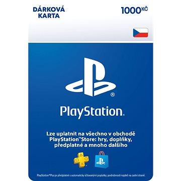 PlayStation Store - Kredit 1000 Kč - CZ Digital (9212-00007)