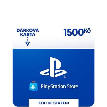 PlayStation Store - Kredit 1500 Kč - CZ Digital (9212-00008)