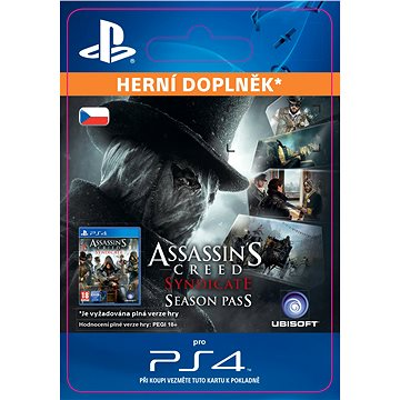 Assassins Creed Syndicate - Season Pass - PS4 CZ Digital (SCEE-XX-S0022000)