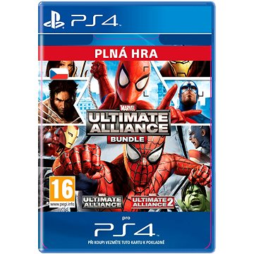 Marvel: Ultimate Alliance Bundle - PS4 CZ Digital (SCEE-XX-S0026071)