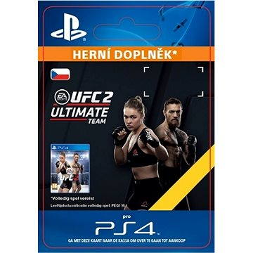 EA SPORTS UFC 2 - 500 UFC POINTS - PS4 CZ Digital (SCEE-XX-S0024150)