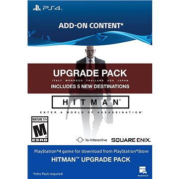 HITMAN Upgrade Pack - PS4 CZ Digital (SCEE-XX-S0024166)