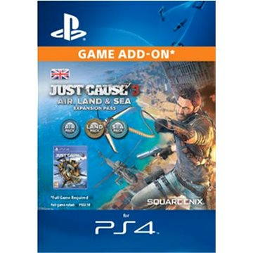 Just Cause 3: Air. Land & Sea Expansion Pass - PS4 CZ Digital (SCEE-XX-S0022627)