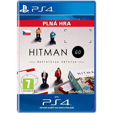 Hitman GO: Definitive Edition - PS4 CZ Digital (SCEE-XX-S0023740)