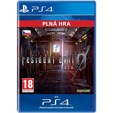 Resident Evil 0 - PS4 CZ Digital (SCEE-XX-S0022931)