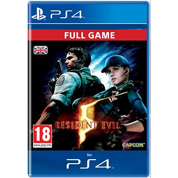 RESIDENT EVIL 5 - PS4 CZ Digital (SCEE-XX-S0025518)