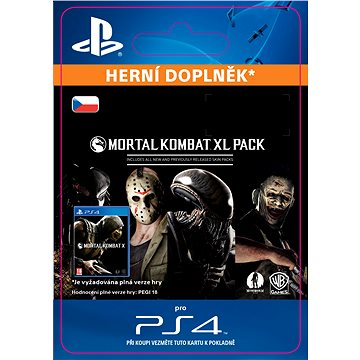 Mortal Kombat X XL Pack - PS4 (SCEE-XX-S0023617)
