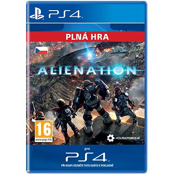ALIENATION - PS4 CZ Digital (SCEE-XX-S0024896)
