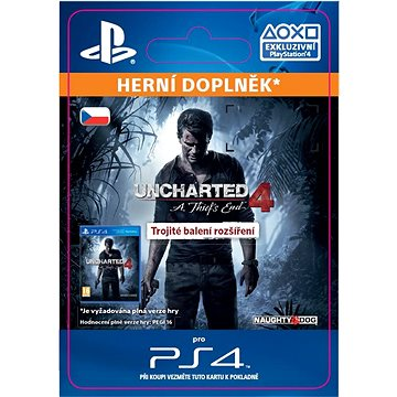 Uncharted 4: A Thiefs End Triple Pack Expansion - PS4 CZ Digital (SCEE-XX-S0024828)