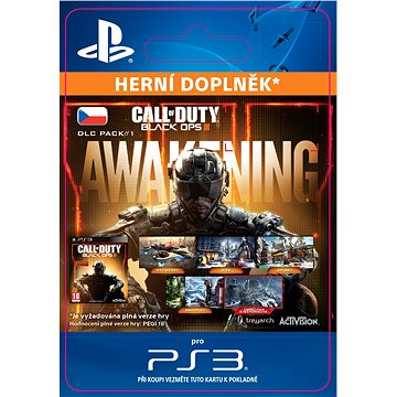 Call of Duty: Black Ops III - Awakening DLC - PS3 CZ Digital (SCEE-XX-S0024763)