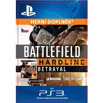 Battlefield Hardline Betrayal - PS3 CZ Digital (SCEE-XX-S0024097)
