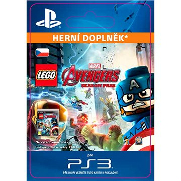 LEGO Marvels Avengers Season Pass - PS3 CZ Digital (SCEE-XX-S0023240)