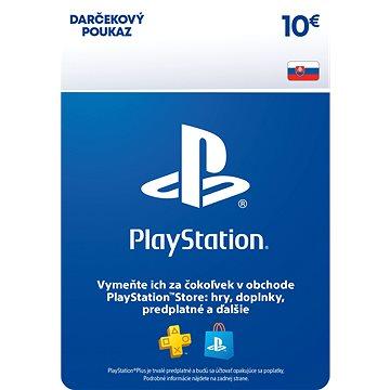 PlayStation Store - Kredit 10 EUR - SK Digital (SCEE-SK-00001000)