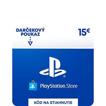 PlayStation Store - Kredit 15 EUR - SK Digital (SCEE-SK-00001500)