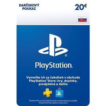 PlayStation Store - Kredit 20 EUR - SK Digital (SCEE-SK-00002000)