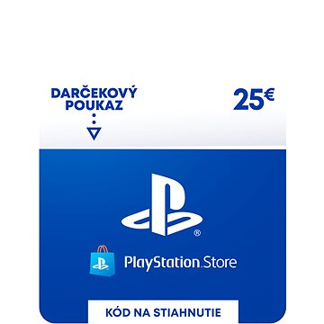 PlayStation Store - Kredit 25 EUR - SK Digital (SCEE-SK-00002500)