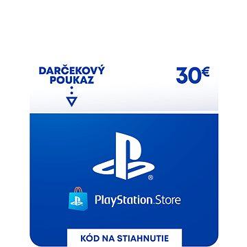 PlayStation Store - Kredit 30 EUR - SK Digital (SCEE-SK-00003000)