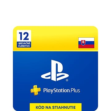 PlayStation Plus 12 měsíční členství - SK Digital (SCEE-XX-S0023093)