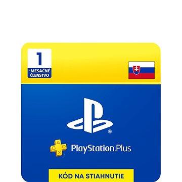 PlayStation Plus 1 měsíční členství - SK Digital (SCEE-XX-S0041460)