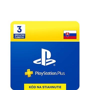 PlayStation Plus 3 měsíční členství - SK Digital (SCEE-XX-S0023094)