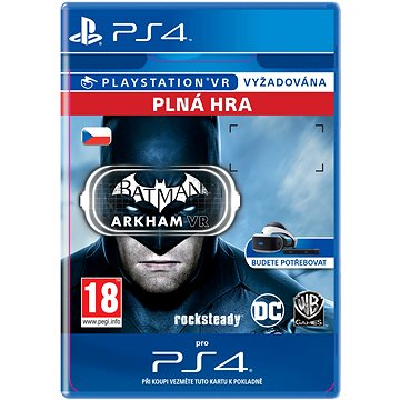 Batman: Arkham VR - PS4 CZ Digital (SCEE-XX-S0027061)