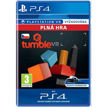 Tumble VR - PS4 CZ Digital (SCEE-XX-S0027084)