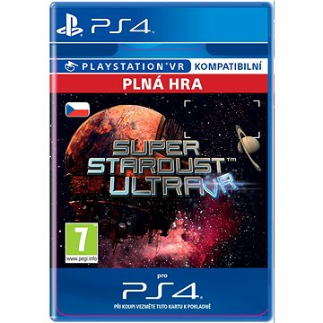 Super Stardust Ultra VR - PS4 CZ Digital (SCEE-XX-S0027164)