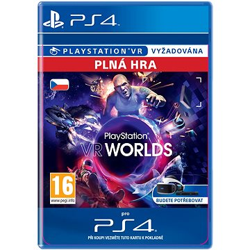 PlayStation VR Worlds - PS4 CZ Digital (SCEE-XX-S0027142)