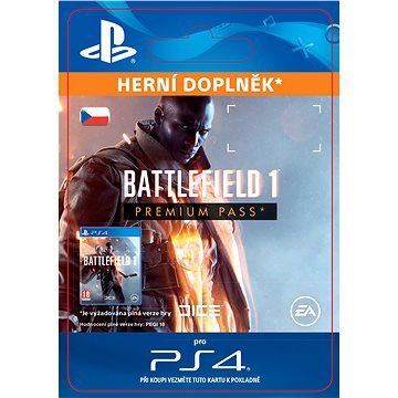 Battlefield 1 Premium Pass - PS4 CZ Digital (SCEE-XX-S0027686)