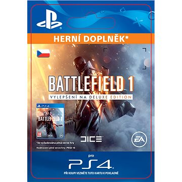 Battlefield 1 Deluxe Edition Content - PS4 CZ Digital (SCEE-XX-S0027716)