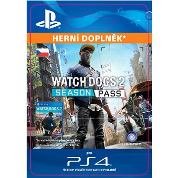 Watch Dogs 2 - Season Pass - PS4 CZ Digital (SCEE-XX-S0027990)